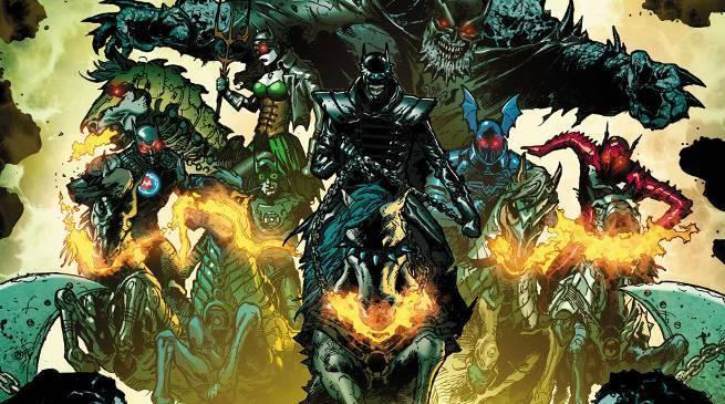 Dark Nights Metal 5 Joker Dragons