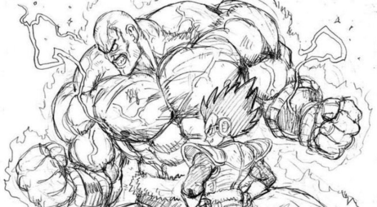 One punch mans illustrator has done some insane dragon