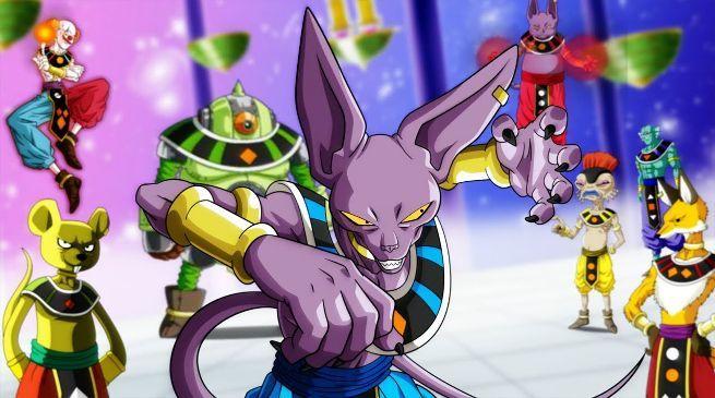 Dragon Ball Gods Destruction Hakai Powers