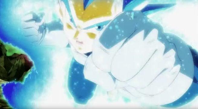 Dragon Ball Super Vegeta SSB New Transformation
