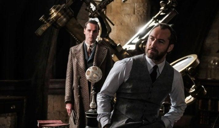 dumbledore fantastic beasts