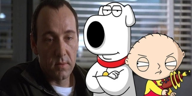 Family Guy Kevin Spacey Comicbookcom