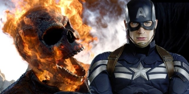 ghost rider spirit of vengeance captain america