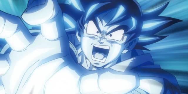 Goku scream