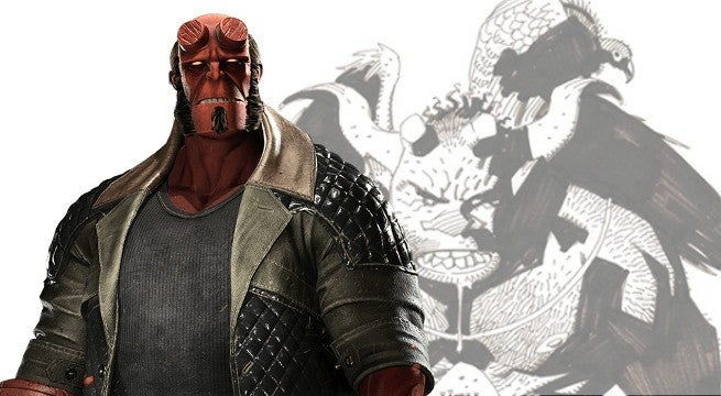 hellboy first drawing header