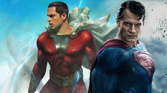 Henry Cavill Superman Shazam Movie Cameo