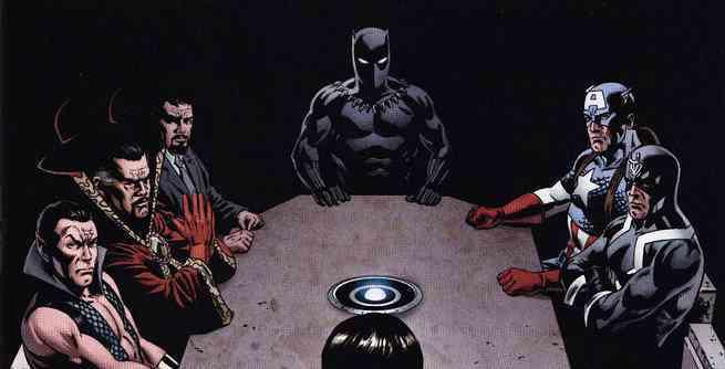HM - 10 Best Black Panther Comics - New Avengers
