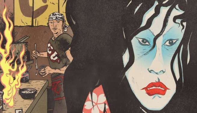 Hungry Ghosts #1 Review - Cover