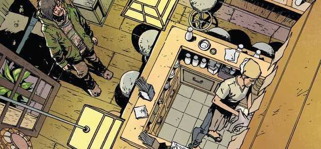 Hungry Ghosts #1 Review - Skeleton