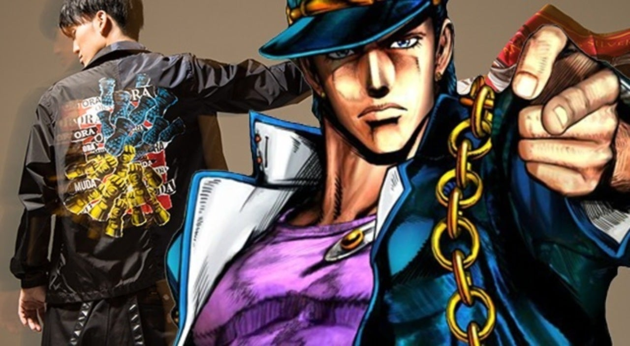 JoJo\u0027s Bizarre Adventure\u0027 Reveals Street Fashion Line
