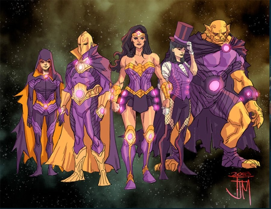 Justice-League-No-Justice-Costumes-Team-Wonder