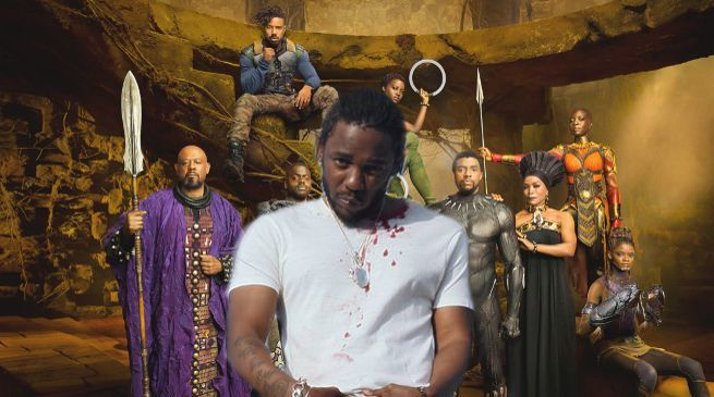 Kendrick Lamar Black Panther Movie Album