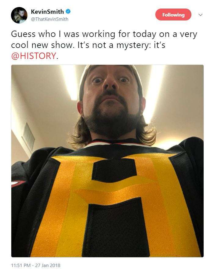 kevin smith history channel