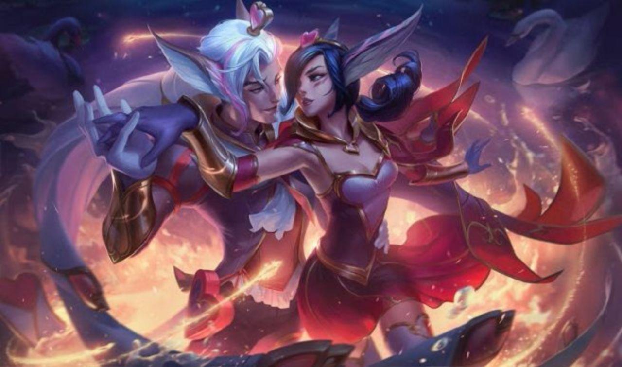 League Of Legends Adds Sweetheart Lunar Splash Arts To Pbe