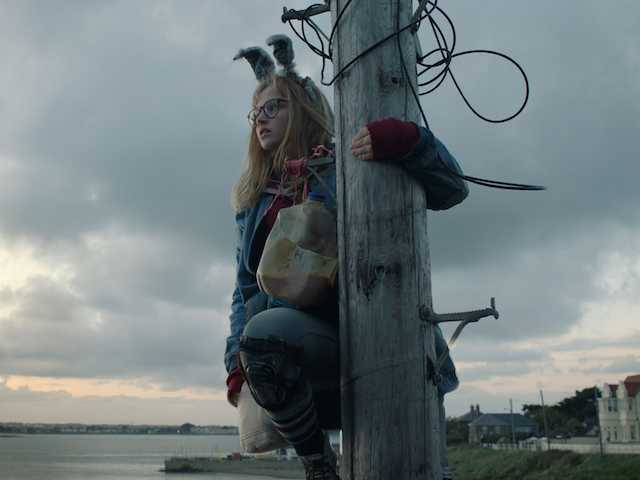 Madison Wolfe in I KILL GIANTS courtesy of RLJE Films