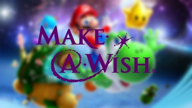 make a wish mario