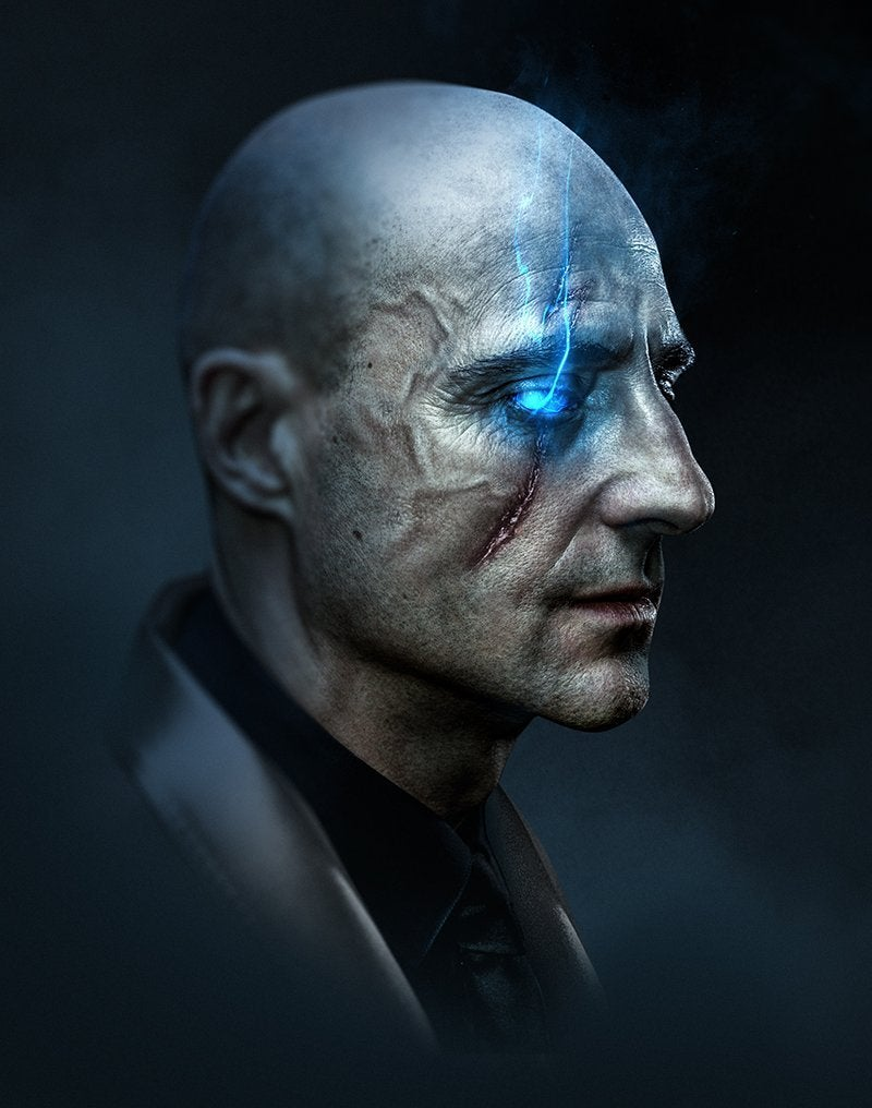 Mark Strong Dr Sivana in Shazam by BossLogic