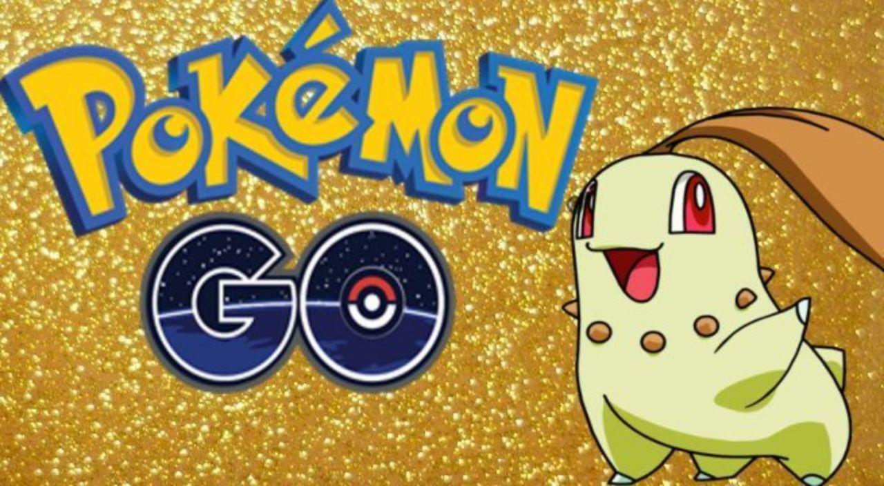Shiny chikorita pokemon go