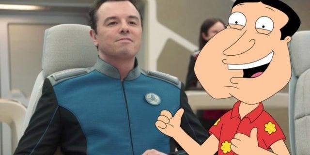 Seth MacFarlane The Orville Family Guy comicbookcom