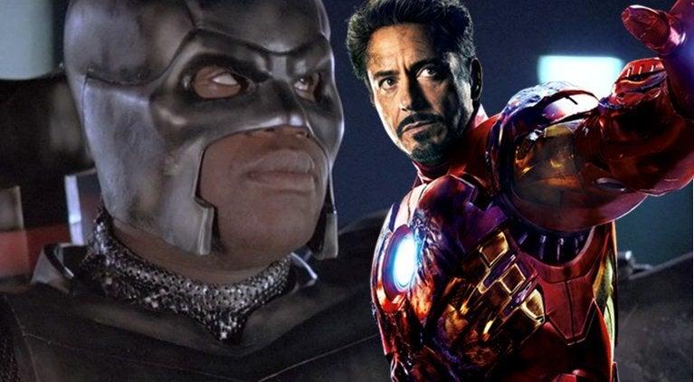 Shaq Robert Downey Jr Marvel
