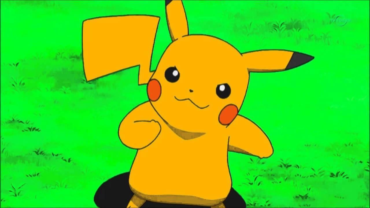 shiny pikachu anime