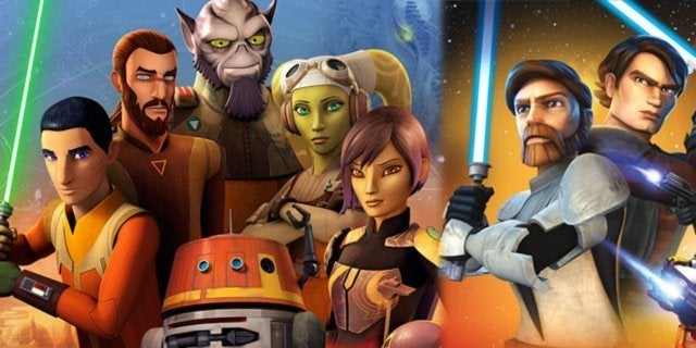 star wars rebels clone wars animation