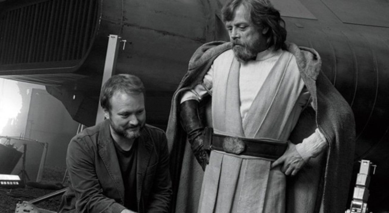 Rian Johnson Participates in Twitter's Knives Out Challenge with Star Wars: The Last Jedi Throwback