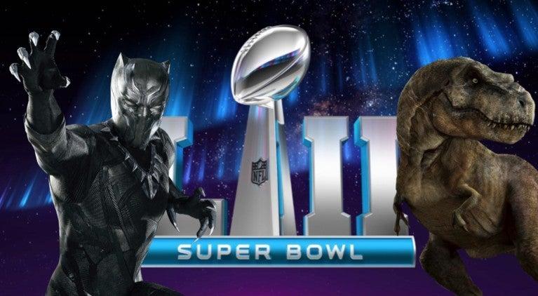 Super Bowl 52 movie trailers comicbookcom