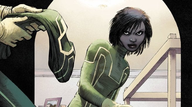 Tessa Thompson as Patience Lee the New Kick-Ass