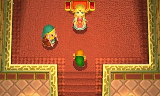 The Legend of Zelda Link Between Worlds