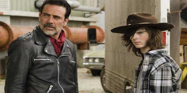 The Walking Dead Carl Negan