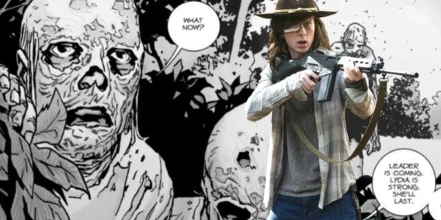 The Walking Dead Carl Whisperers comicbookcom