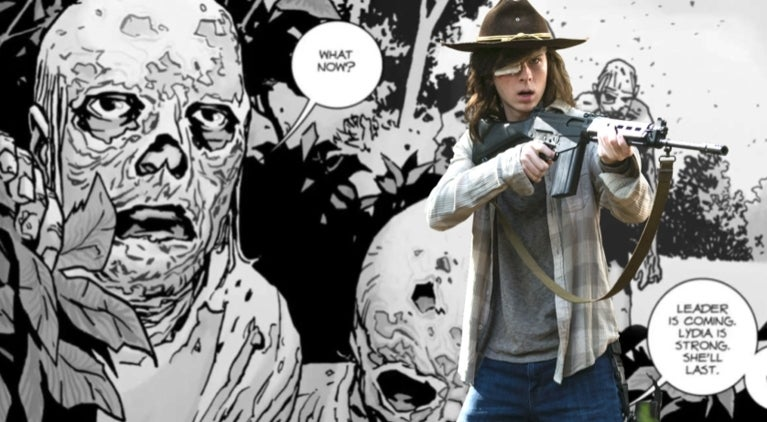 The Walking Dead Carl Whisperers comicbookcom