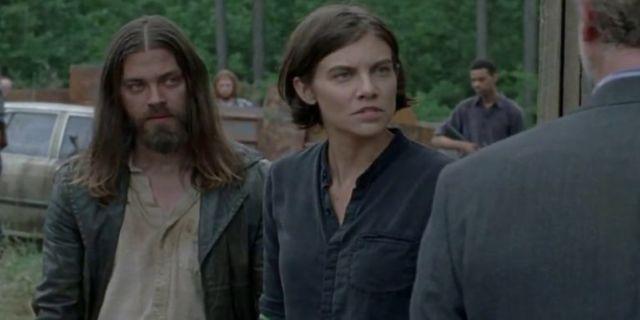 The Walking Dead Maggie Jesus