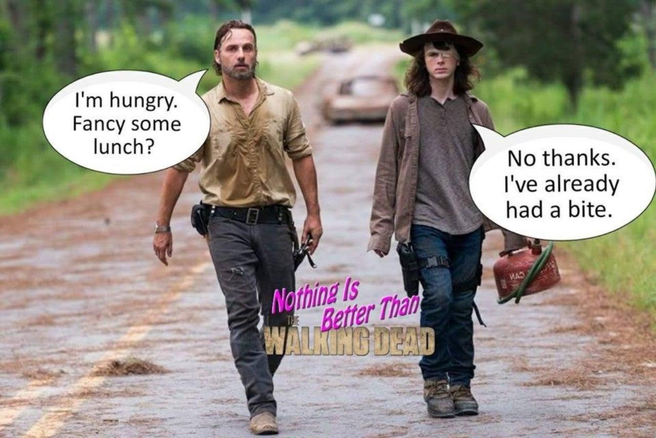 Walking Dead Carl Memes