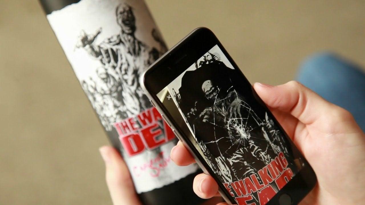 The Walking Dead Wine AR