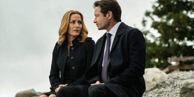 the x files gillian anderson david duchovny season 10