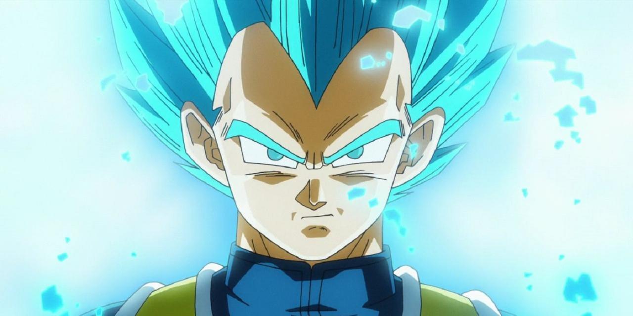 Vegeta Super Saiyan Blue 2 Transformation Cabba