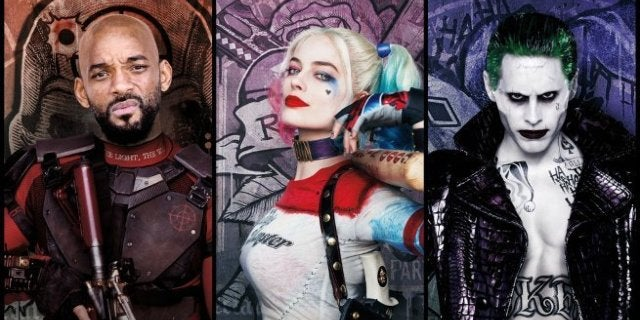 Will Smith Margot Robbie Jared Leto Suicide Squad 2