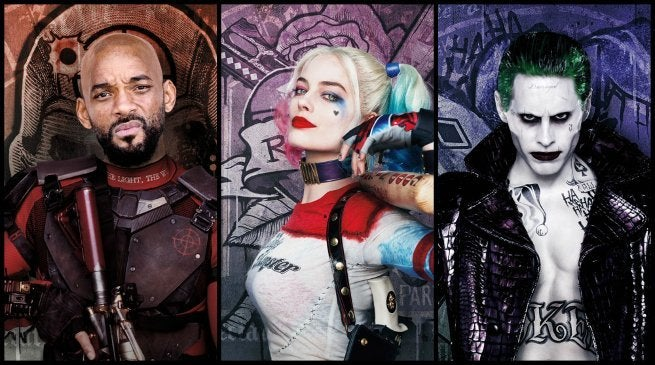 Will Smith Margot Robbie Jared Leto Suicide Squad 2