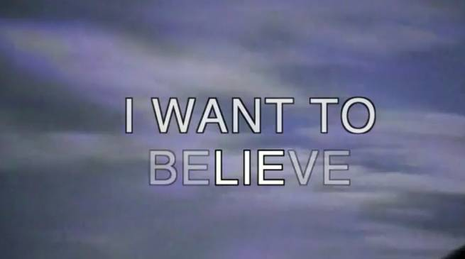 X-Files Season 11 Premiere Alternate Opening Credits I Want to Lie