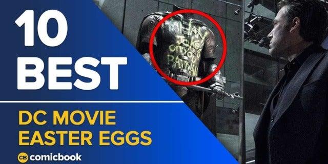 10 Best DC Movie Easter Eggs