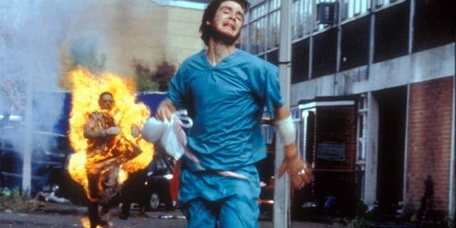 28 days later cillian murphy running
