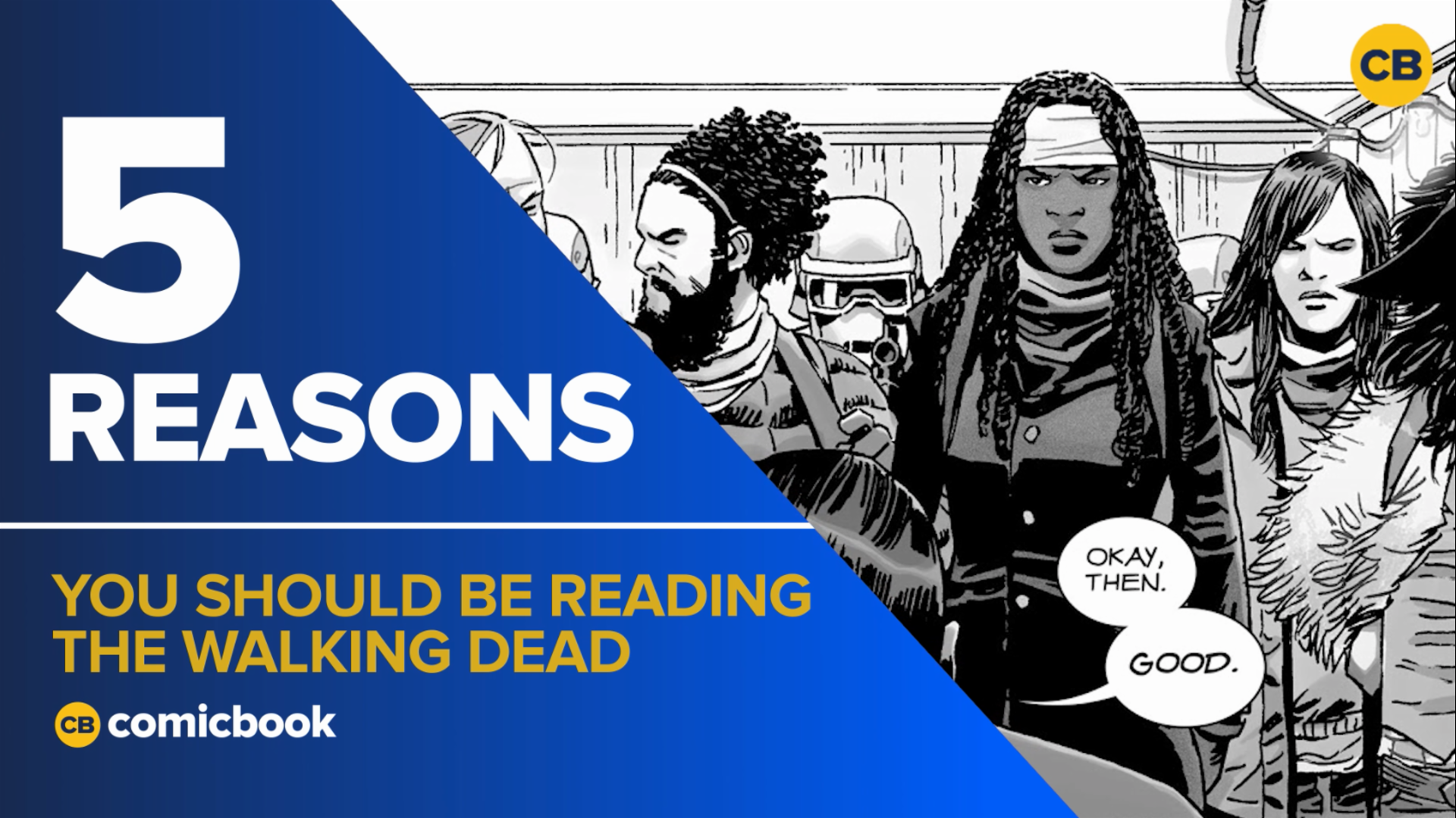 5 Reasons You Should Be Reading The Walking Dead Comics screen capture