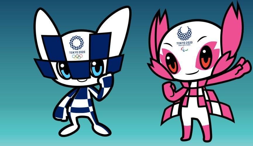 anime tokyo 2020 mascots