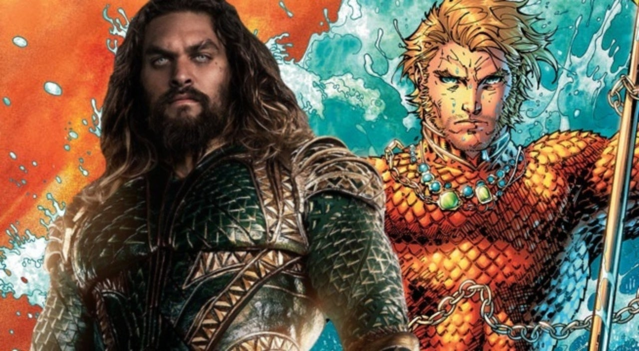 Aquaman Movie Promo Poster Reveals First Look At New Costume