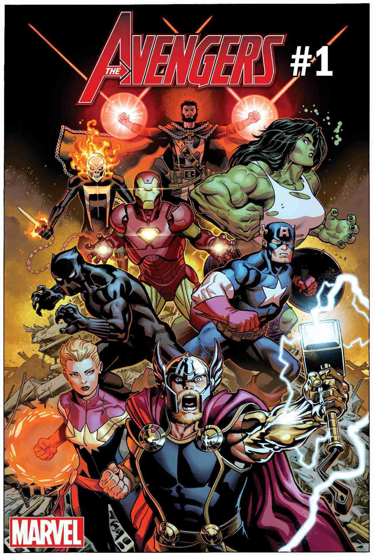 Avengers #1 2018