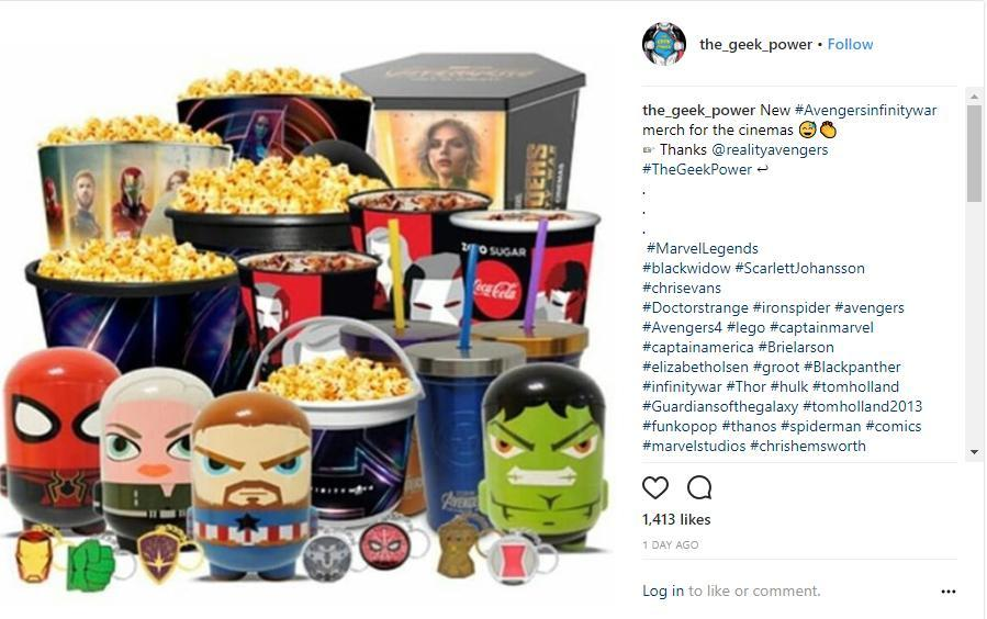 First Look At Avengers Infinity War Movie Theater Product