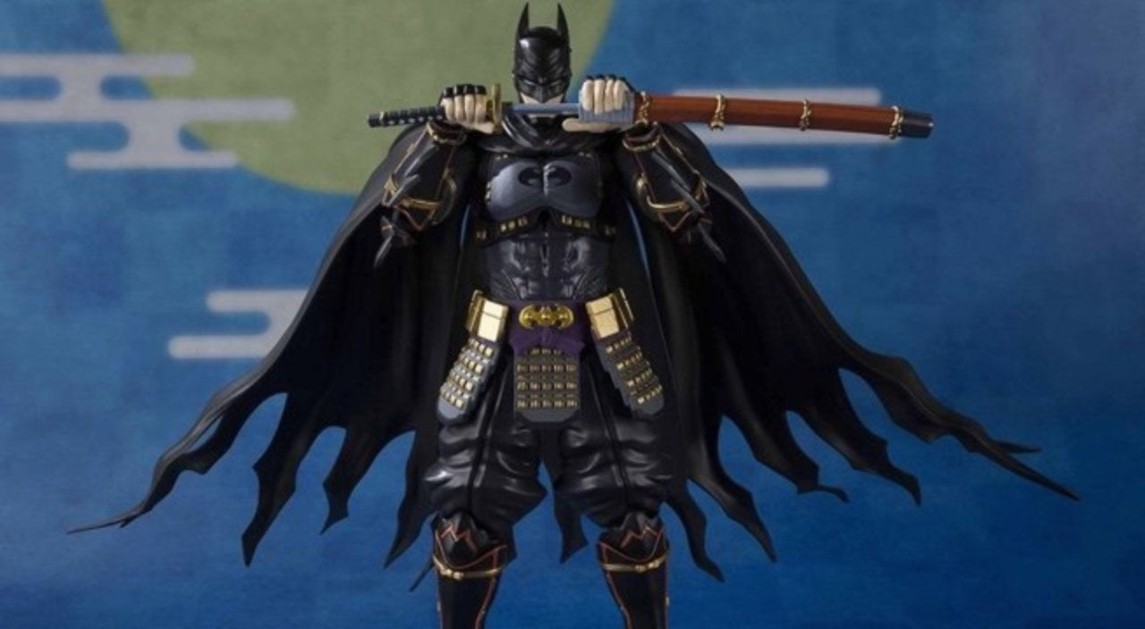 batman ninja s h figuarts batman and joker figures are ready to order