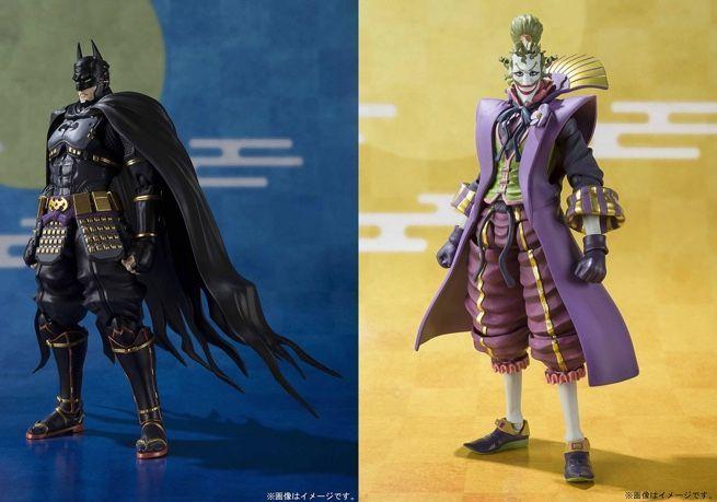 Batman Ninja S H Figuarts Batman And Joker Figures Are Ready To Order